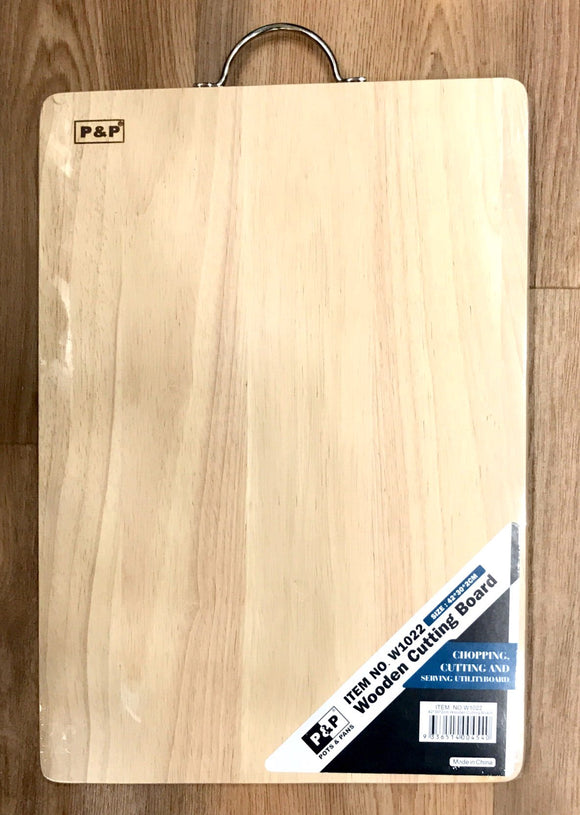 P&P Wooden Cutting Board 42x30x2CM