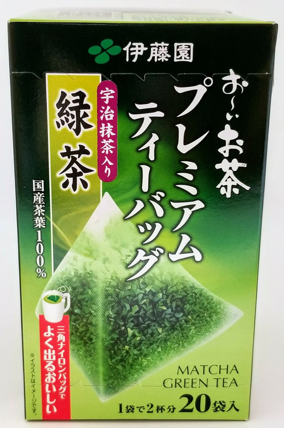 Itoen Premium Green Tea W/Matcha Powder 20P 36G