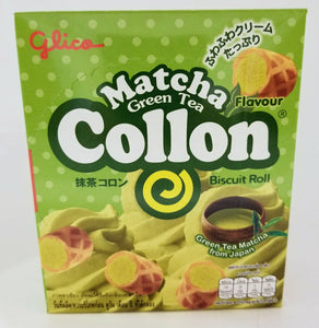 Glico Collon Biscuit (Matcha Green Tea) 46G
