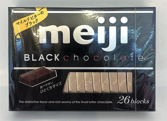 Meiji Black Chocolate Box 130G