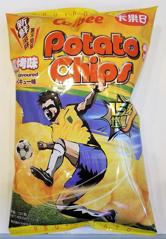 Calbee Potato Chips BBQ 105G