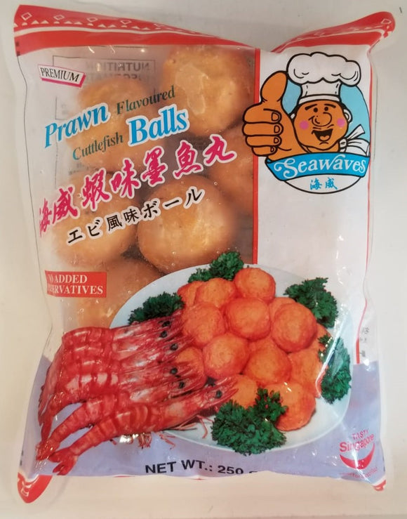 Seawaves Prawn Flavored Cuttlefish Ball 250G