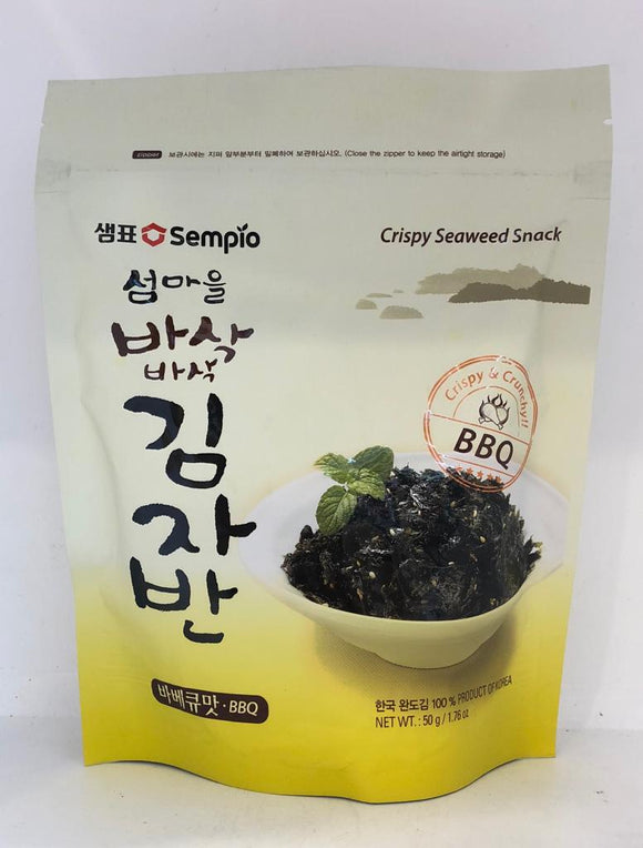 Sempio Roasted & Seasoned Lave Snack -BBQ 50G