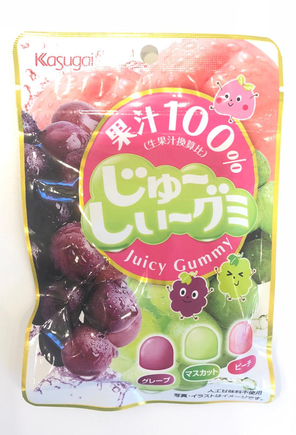 Kasugai Juicy Gummy 53G