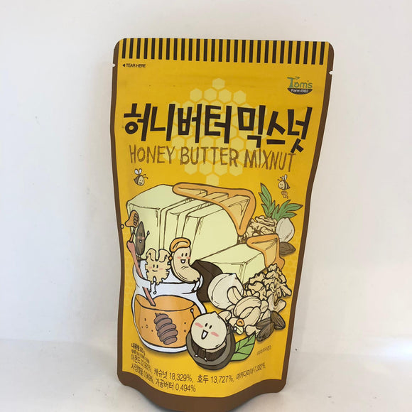 Tom's Honey Butter Mix Nut 220G