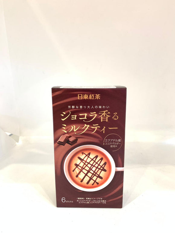 Nittou Chocolate Milk Tea 6 x 14G