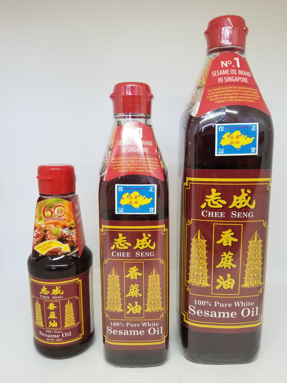 CS 100% Pure White Sesame Oil