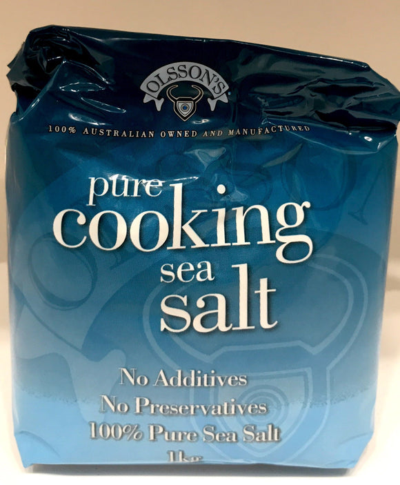 Olssons Pure Cooking Sea Salt 1KG
