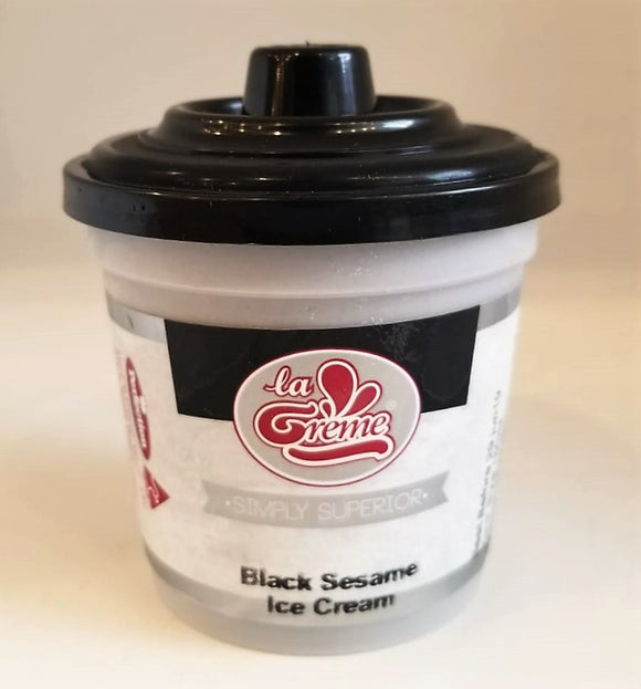 La Creme Black Sesame Ice Cream 150ML