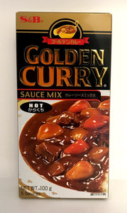 S&B Golden Curry Hot 100G