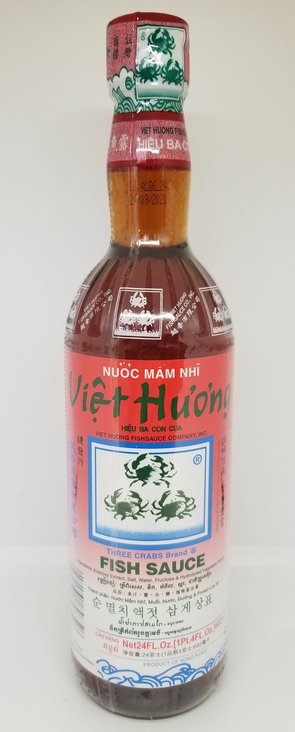 3 Crabs Fish Sauce 710ML