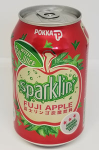 Pokka Sparkling Fuji Apple Juice 330ML