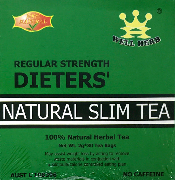 Natural Slim Tea Regular 30 bags