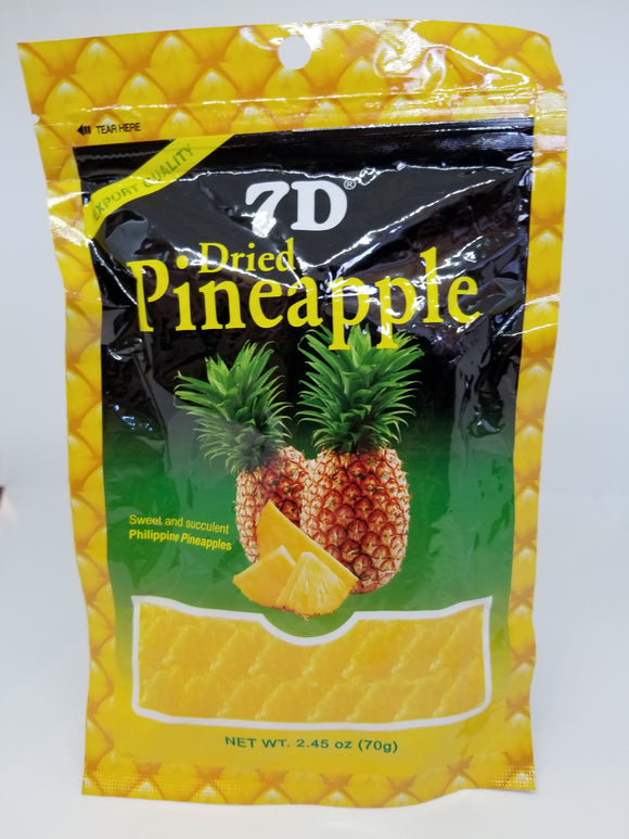 7D Dried Pineapple 70G