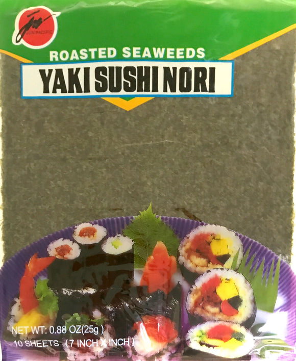 Jun Roasted Seaweed Green 10P