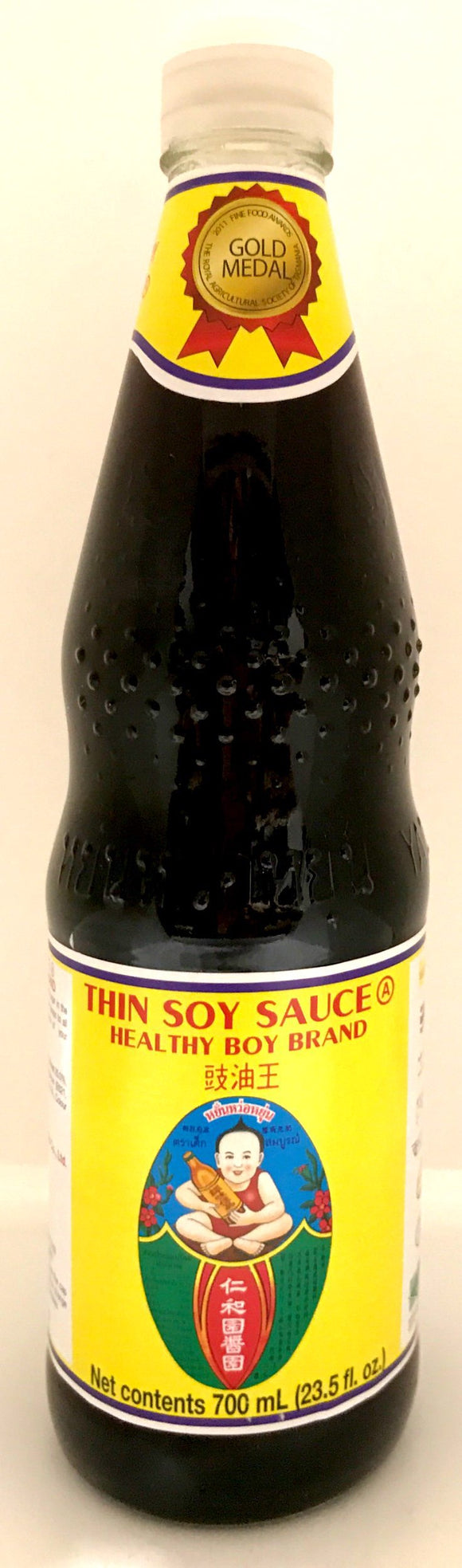 Healthy Boy Thin Soy Sauce 700ML