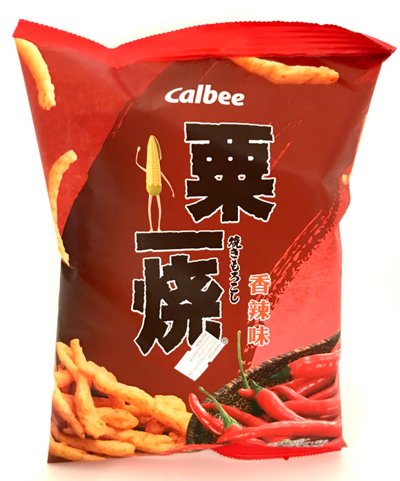 Calbee Grill-A-Corn Hot & Spicy flavor 80G