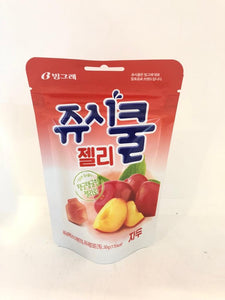 Juicy Cool Jelly- Peach 50G