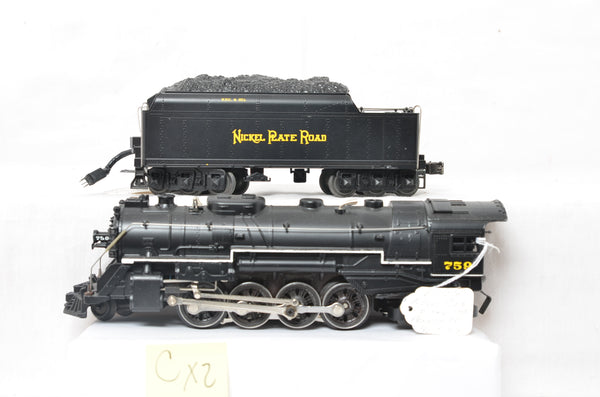 Lionel prototype 28074 Nickel Plate Berkshire locomotive - Varies from production