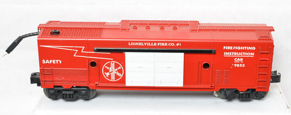 Lionel modern era 19853 Fire Fighting Instruction car prototype