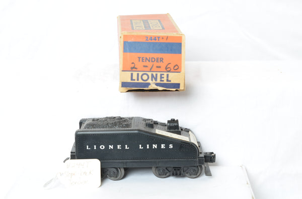 Lionel postwar 244T tender production sample with original box