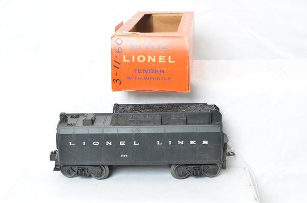 Lionel 243W Tender production sample with original box