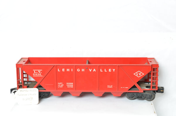 Lionel Lehigh Valley 6436 Hopper