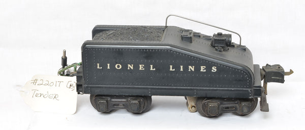 Lionel Lines 2201T slope back tender
