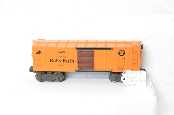 Lionel postwar 4454 Electronic Control Baby Ruth boxcar production sample