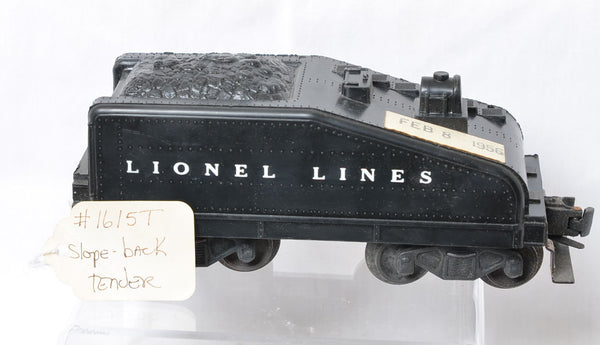 Lionel 1615T tender production sample