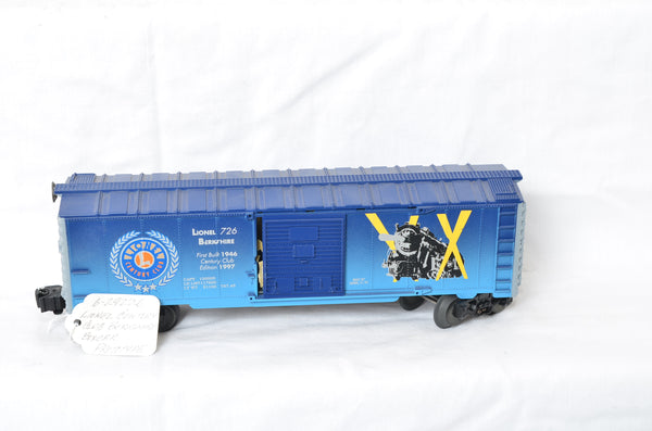Lionel 29226 726 Berkshire Century Club boxcar hand decaled prototype