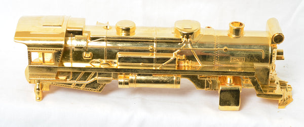 Lionel modern gold plated 8615 steam locomotive shell