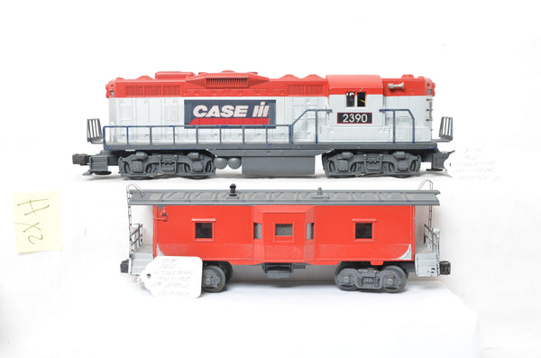 Lionel Case / International Harvester GP-9 and  bay window caboose prototypes- Never produced
