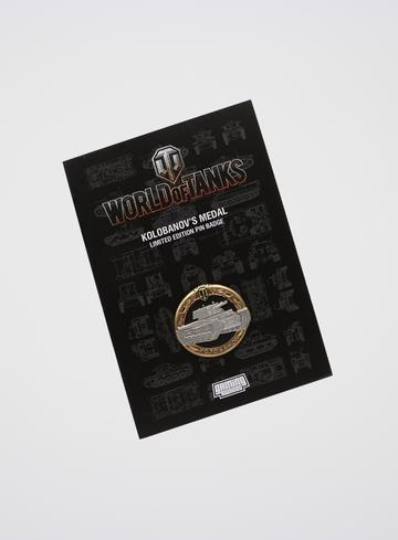 World of Tanks Kolobanov's Medal Pin