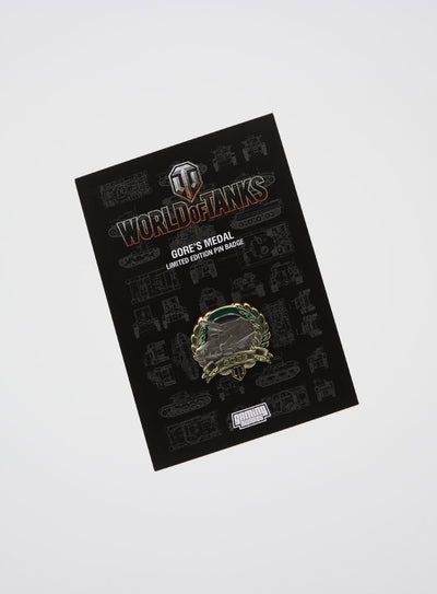 World of Tanks Gore's Medal Pin