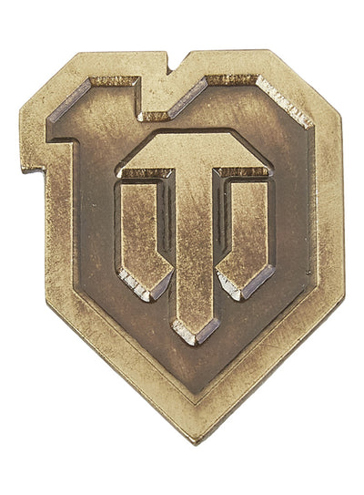 World of Tanks 10th Anniversary Pin