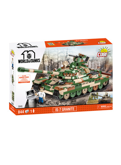 World of Tanks Cobi Blocks IS 7 Granite