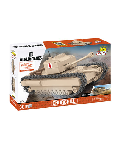 World of Tanks Cobi Blocks Churchill  1:48