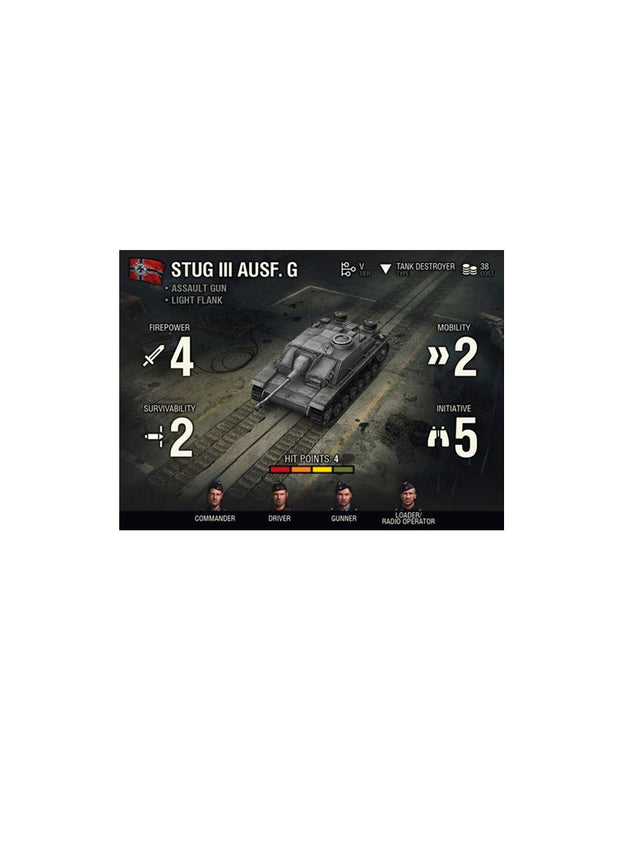World of Tanks Miniatures Game - Expansion Pack StuG III G