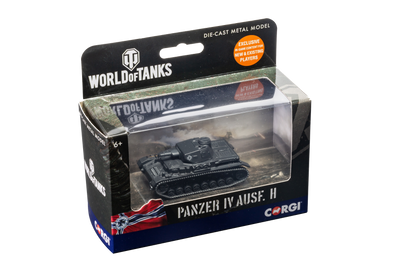 World of Tanks diecast model Panzer Ausf. D  Tank 1:72