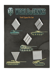 World of Tanks Pin Set Tank Types