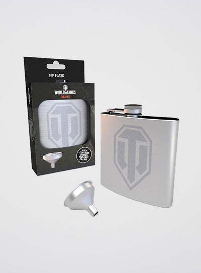 World of Tanks Logo Flask