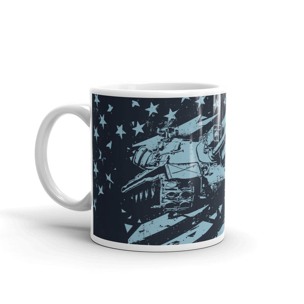 World of Tanks USA Flag Mug