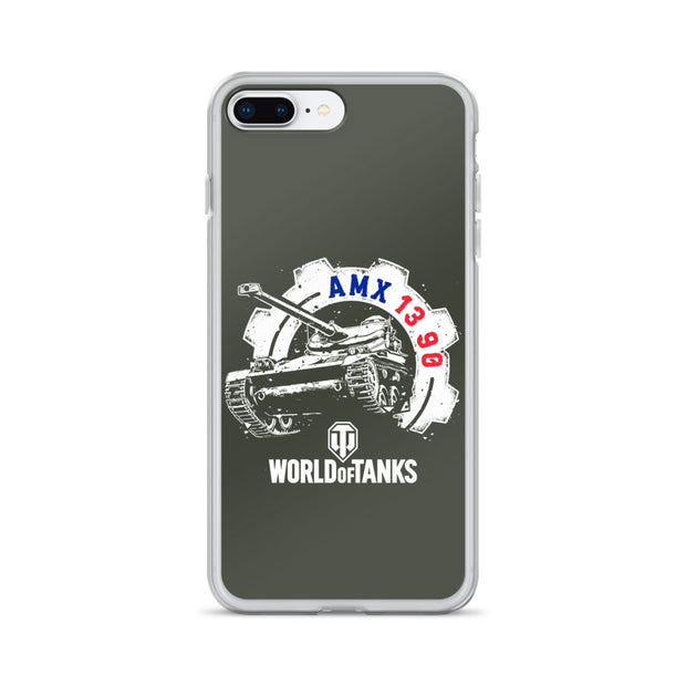 World of Tanks National iPhone Case FR AMX 13 90