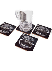 World of Tanks The Tiger Collection Coaster Set of 4