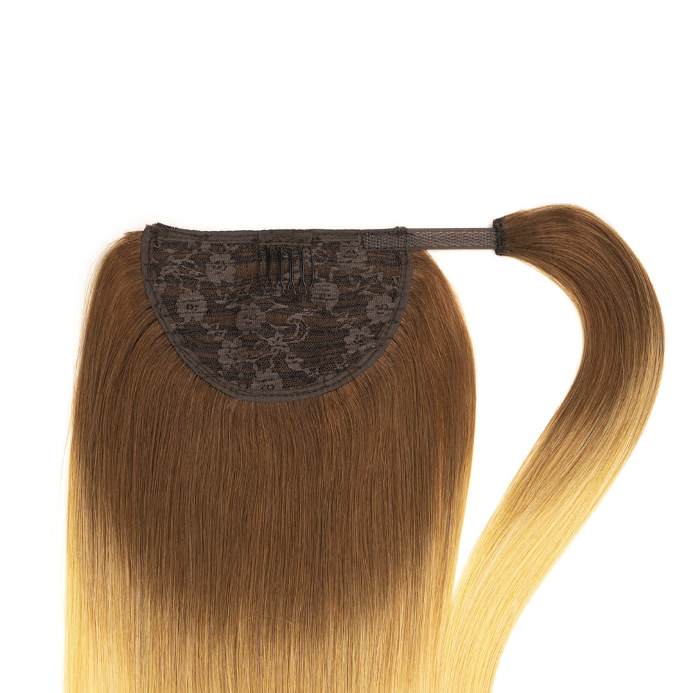 Ponytail Rooted 5/24 (Chocolate Brown X Golden Blonde)