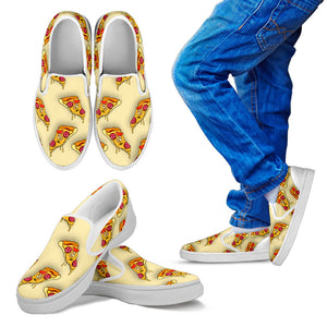 Kids Pizza Kid's Slip Ons
