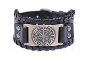 Wiccan Compass Viking Bracelet