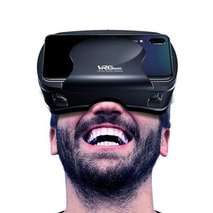 Full Screen Wide-Angle VR Glasses