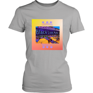 BLM Plaza Women's Tee (4)